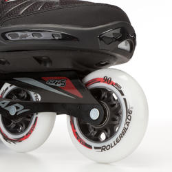 Fitness skates Rollerblade XL voor volwassenen zwart - 665039