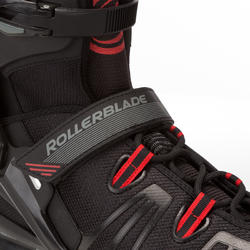 Fitness skates Rollerblade XL voor volwassenen zwart - 665042