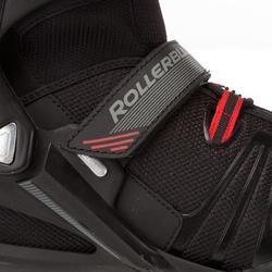 Fitness skates Rollerblade XL voor volwassenen zwart - 665043