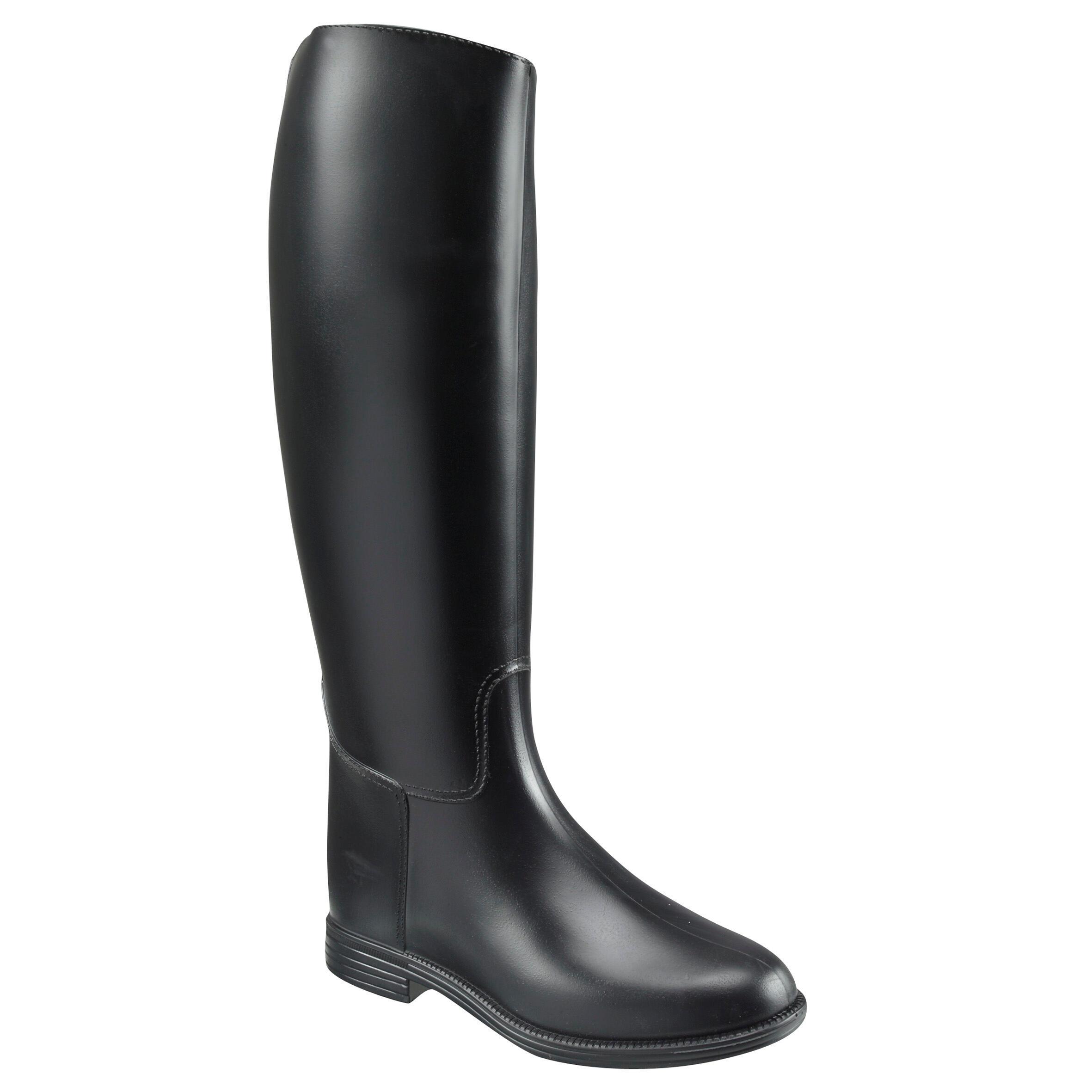 Botas equitación adulto SCHOOLING negro - tallas 21.5 a 28.5