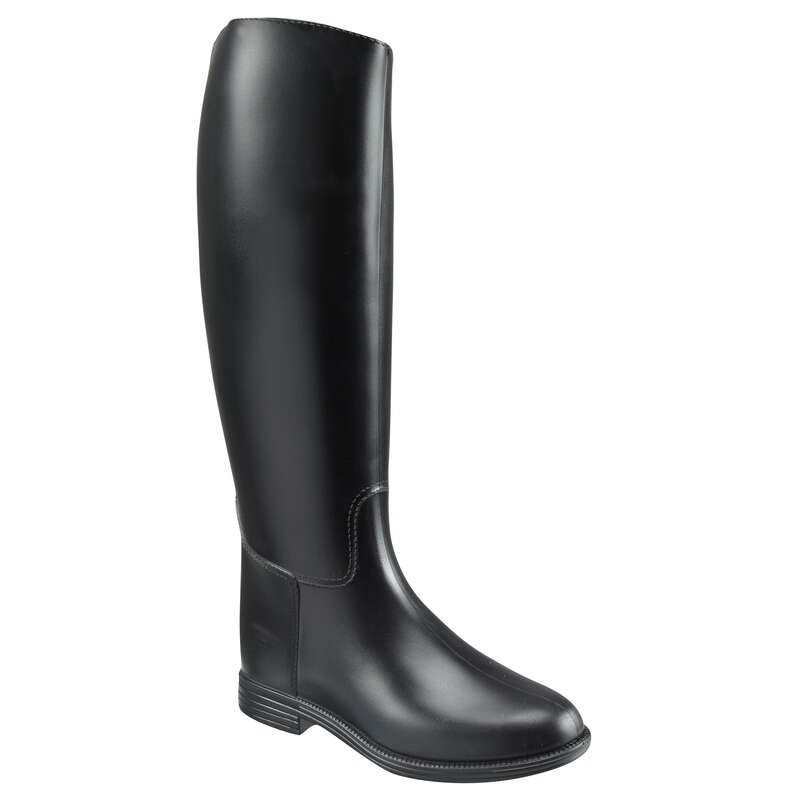 ADULT RIDING LONGBOOTS/ACCESS. Horse Riding - SCHOOLING boots Adult FOUGANZA - Horse Riding