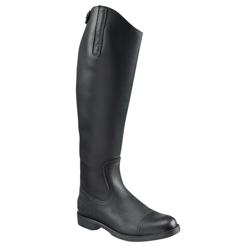Joao Adult Synthetic Horse Riding Boots - Black