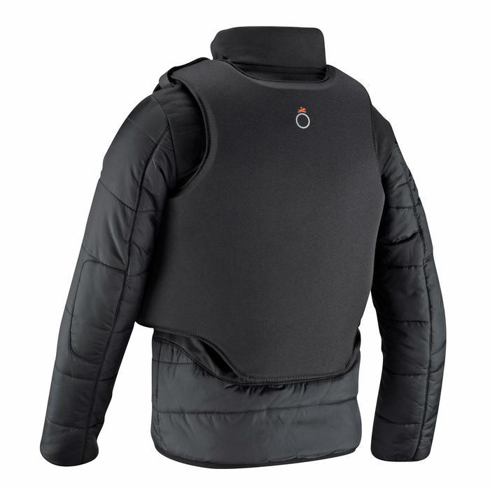 Veste équitation enfant SAFY noir - 665441