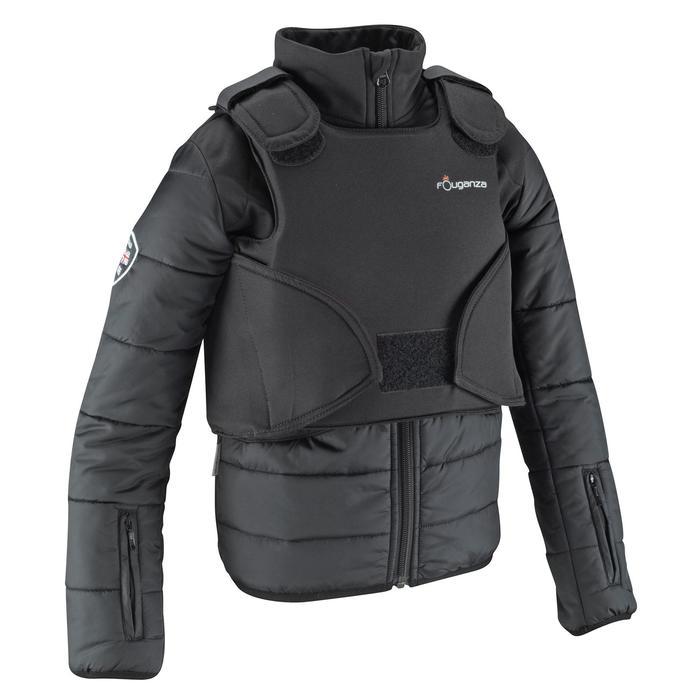 Veste équitation enfant SAFY noir - 665449