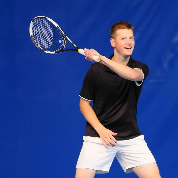 Herenshort Essentiel marineblauw 100 tennis/badminton/tafeltennis/padel/squash - 665937