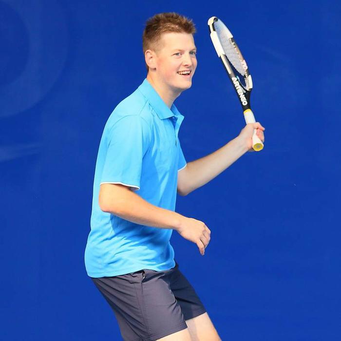 Herenshort Essentiel marineblauw 100 tennis/badminton/tafeltennis/padel/squash