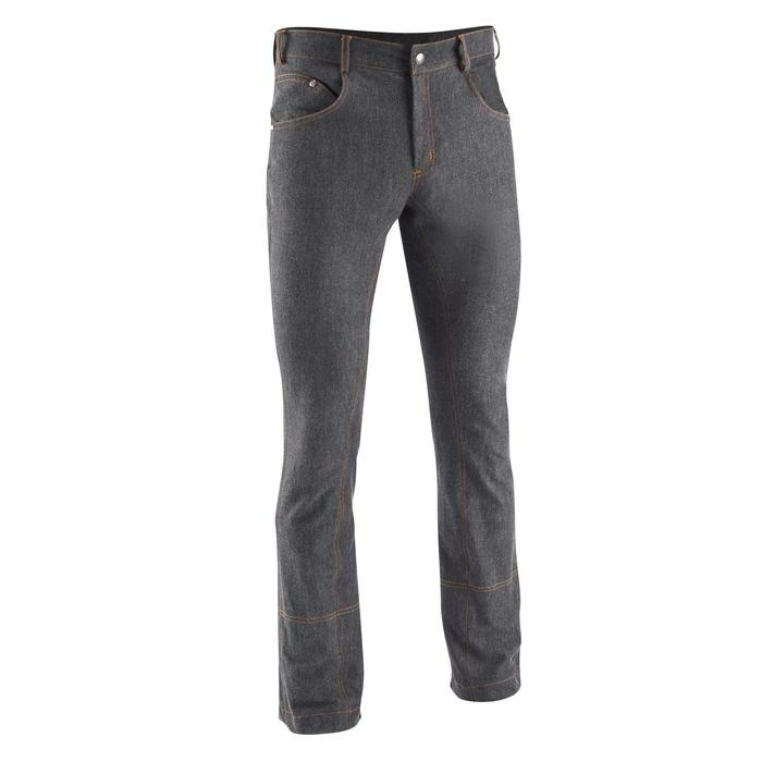 Jodhpurreithose Jeans Herren schwarz