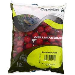 Lokvoer voor karpervissen boilies Wellmix 1 kg - 66625