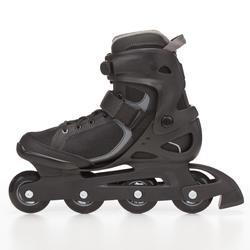 Skeelers Fitness Fit 3 voor heren zwart/grijs - 669007