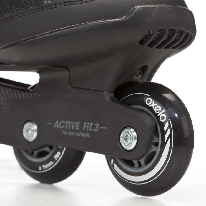 Roller fitness homme FIT 3 noir gris - 669010