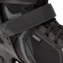 Skeelers Fitness Fit 3 voor heren zwart/grijs - 669011