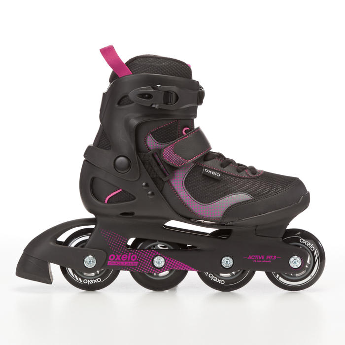Fit 3 Women's Fitness Inline Skates - Black/Fuchsia - 669016