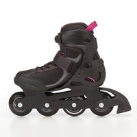 Fit 3 Women's Inline Fitness Skates - Black/Fuchsia