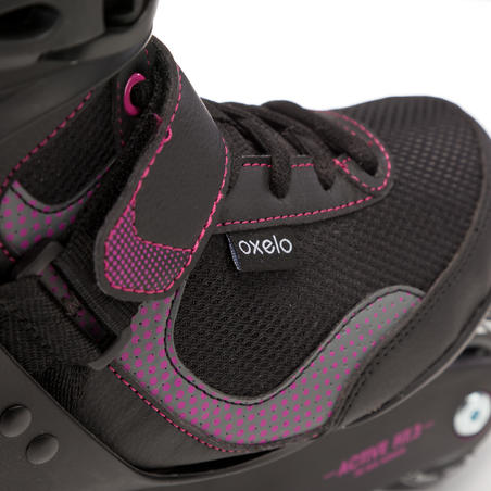 Fit 3 Women's Fitness Inline Skates - Black/Fuchsia