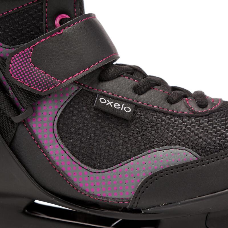 รองเท้าอินไลน์สเก็ตผู้หญิงเพื่อการออกกำลังกายรุ่น FIT 3 (สีดำ/ม่วง)