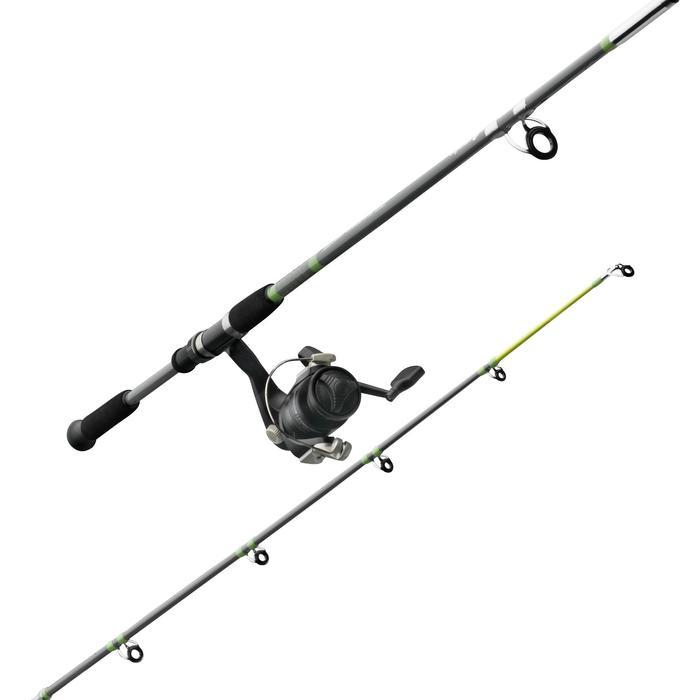 Ensemble pêche au posé SET ESSENTIAL LEDGERING GREEN - 669190
