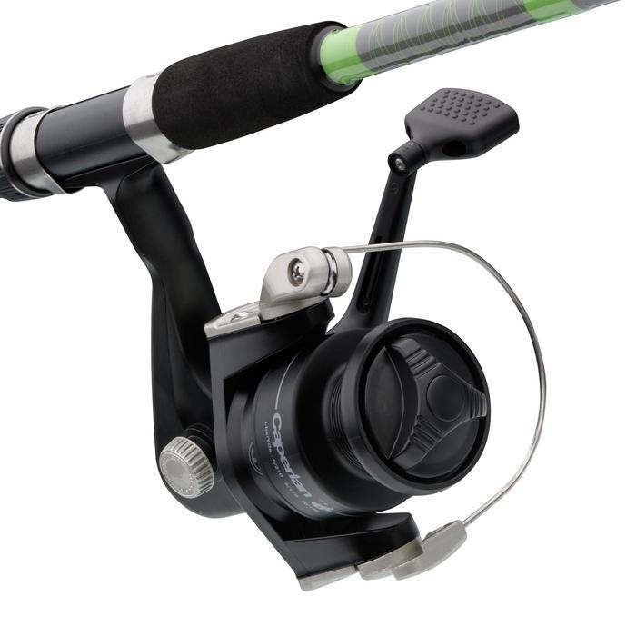 Ensemble pêche au posé SET ESSENTIAL LEDGERING GREEN - 669192