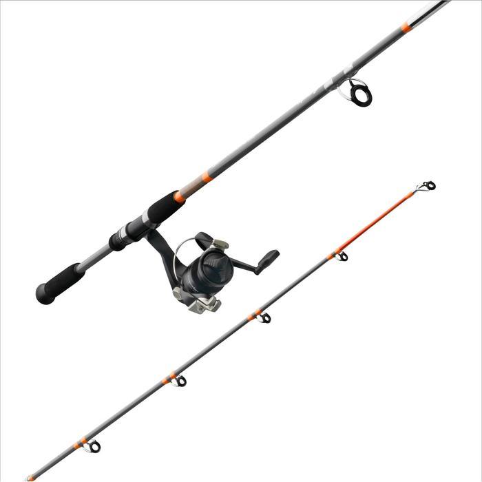 Conjunto para pesca fija SET ESSENTIAL LEDGERING NARANJA