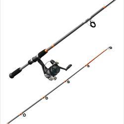 Ensemble pêche au posé SET ESSENTIAL LEDGERING ORANGE