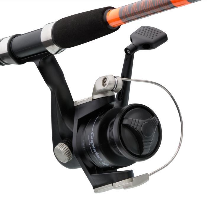 Hengelset Essential Ledgering voor aasvissen oranje