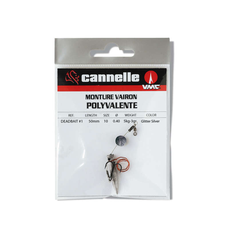DEAD MINNOW FISHING - MINNOW TACKLE POLY 5CM 5KG SI CANNELLE