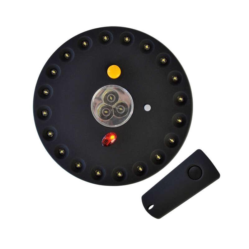 KARPUTRUSTNING Fiske - Tältlampa + fjärrkontroll CARP SPIRIT - Förvaring och tält