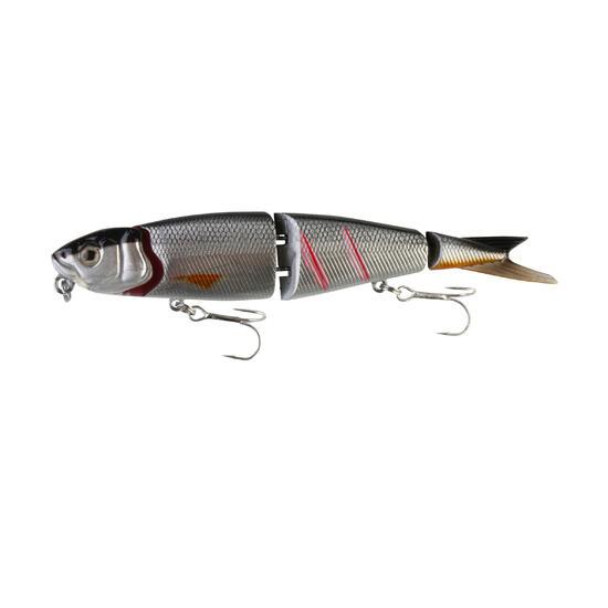 Plugs hengelsport 4Play Swim and Jerk 9,5 cm zilver - 669554