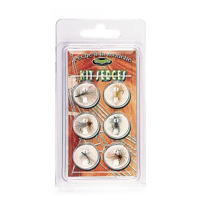 Fliegenfisch-Set Sedges