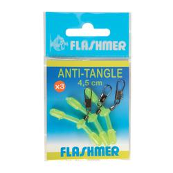 Anti-tangle geel 4,5 cm surfcasting