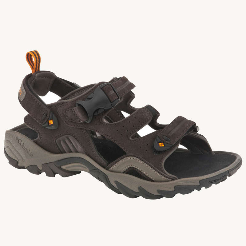 MEN HIKING SANDALS/SHOES WARM WEAT - Ridge Venture Mens Walking Sandals - Brown  COLUMBIA