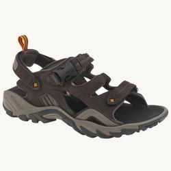 Sandalias de senderismo para hombre COLUMBIA Ridge Venture piel marrón