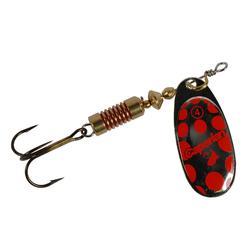 Cucharilla pesca PONGA #4 Silver/Red