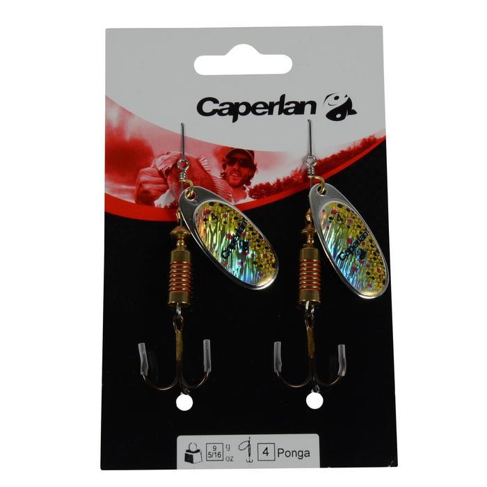 Cuiller pêche PONGA #4 Argent x2 - 670089