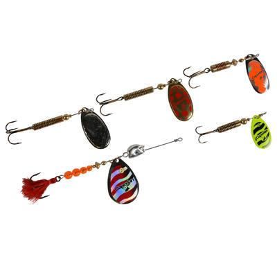 Kit cuillers pêche Kit Kauri