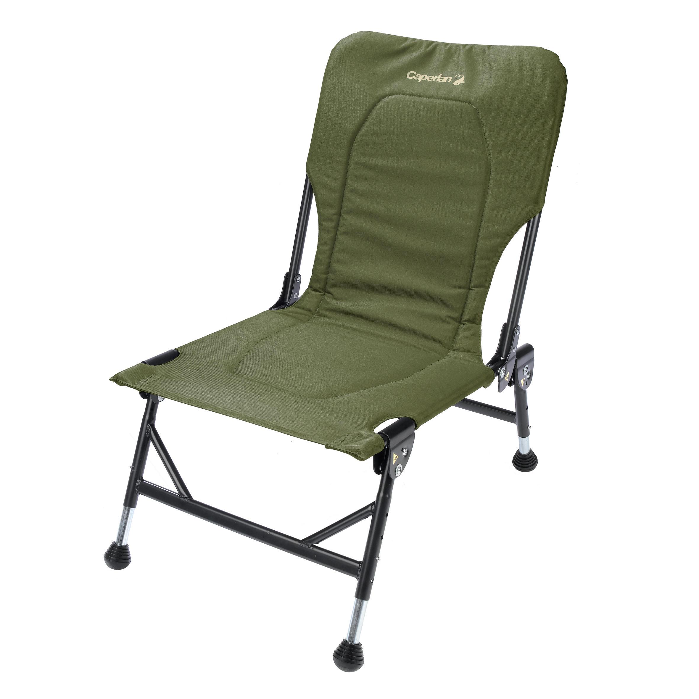 Chaise pliante pour carpiste