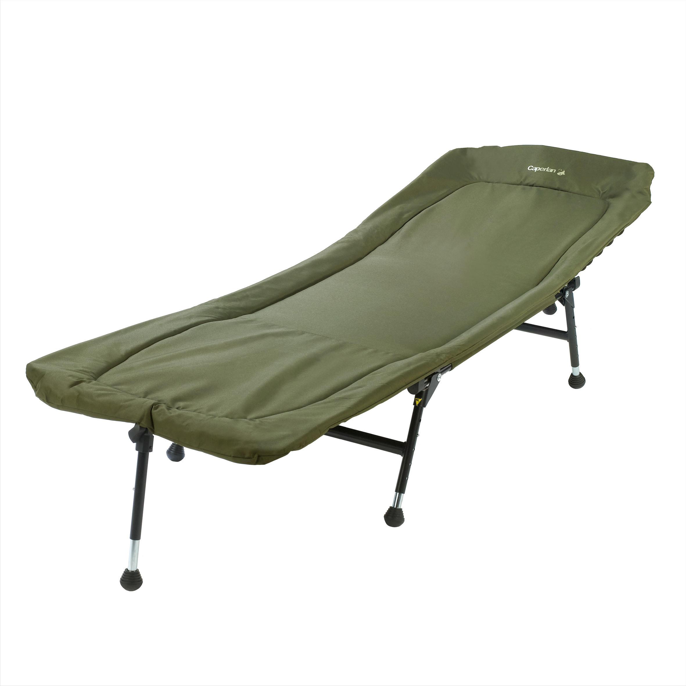 Chaise longue pour carpiste