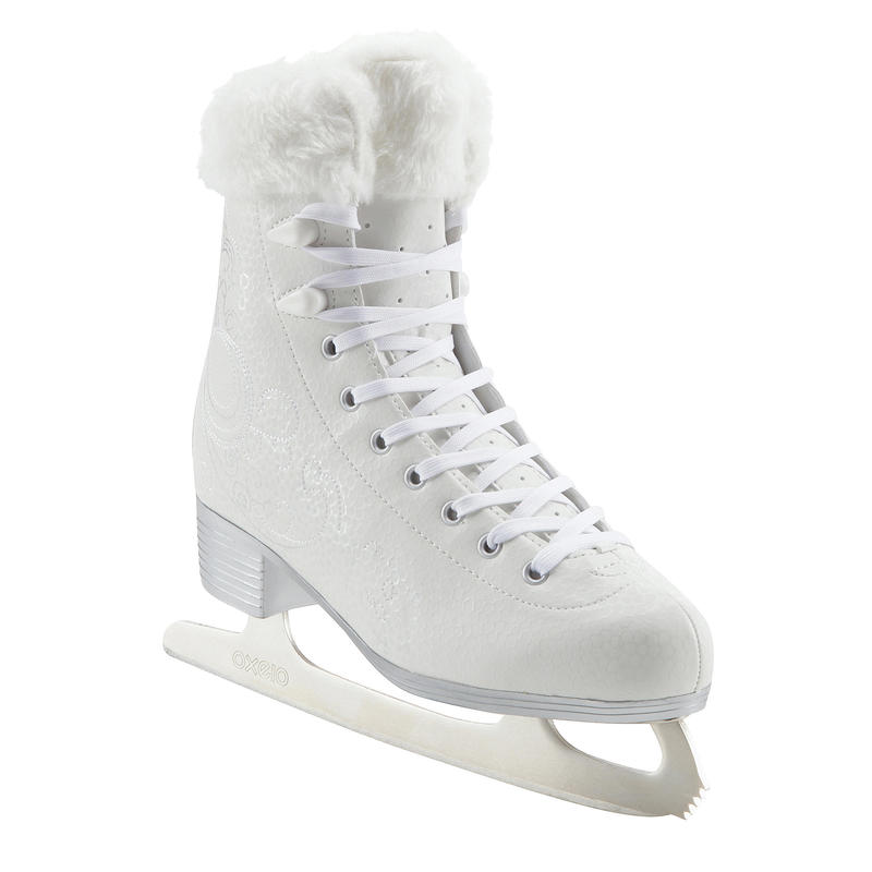 500 Women's Ice Skates - White