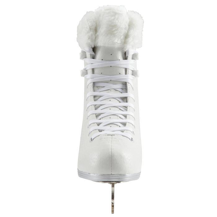 Patin à glace 500 blanc