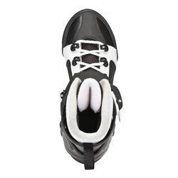 Schlittschuhe Fit 3 schwarz/weiß