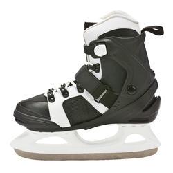 Patins à glace FIT 3 noir blanc