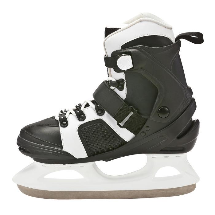 Patins à glace homme FIT 3 noir blancs - 671781