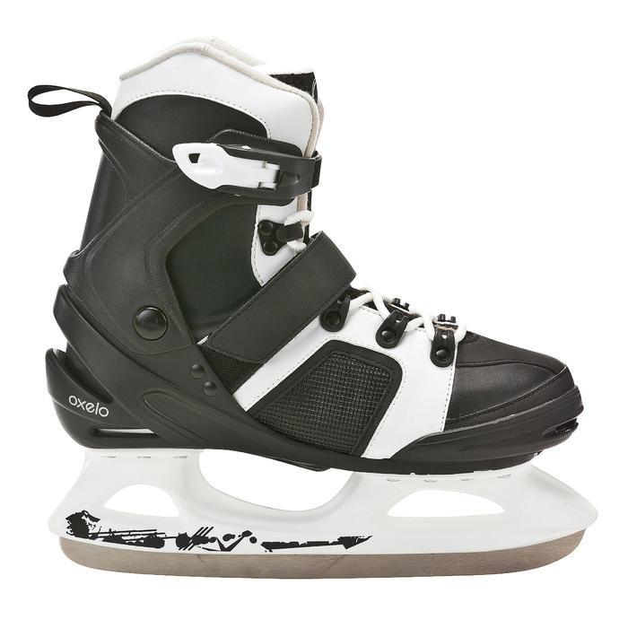 Patins à glace homme FIT 3 noir blancs - 671782