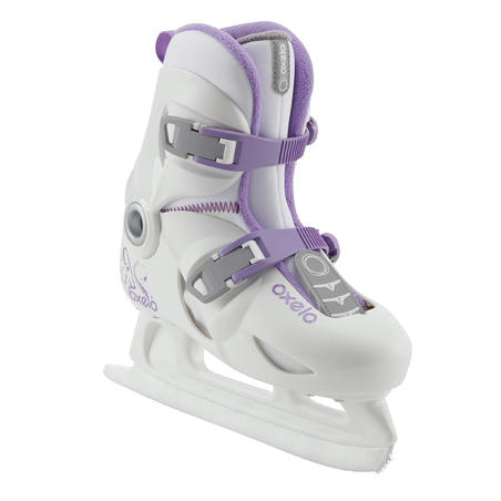 Girls' Ice Skates - White