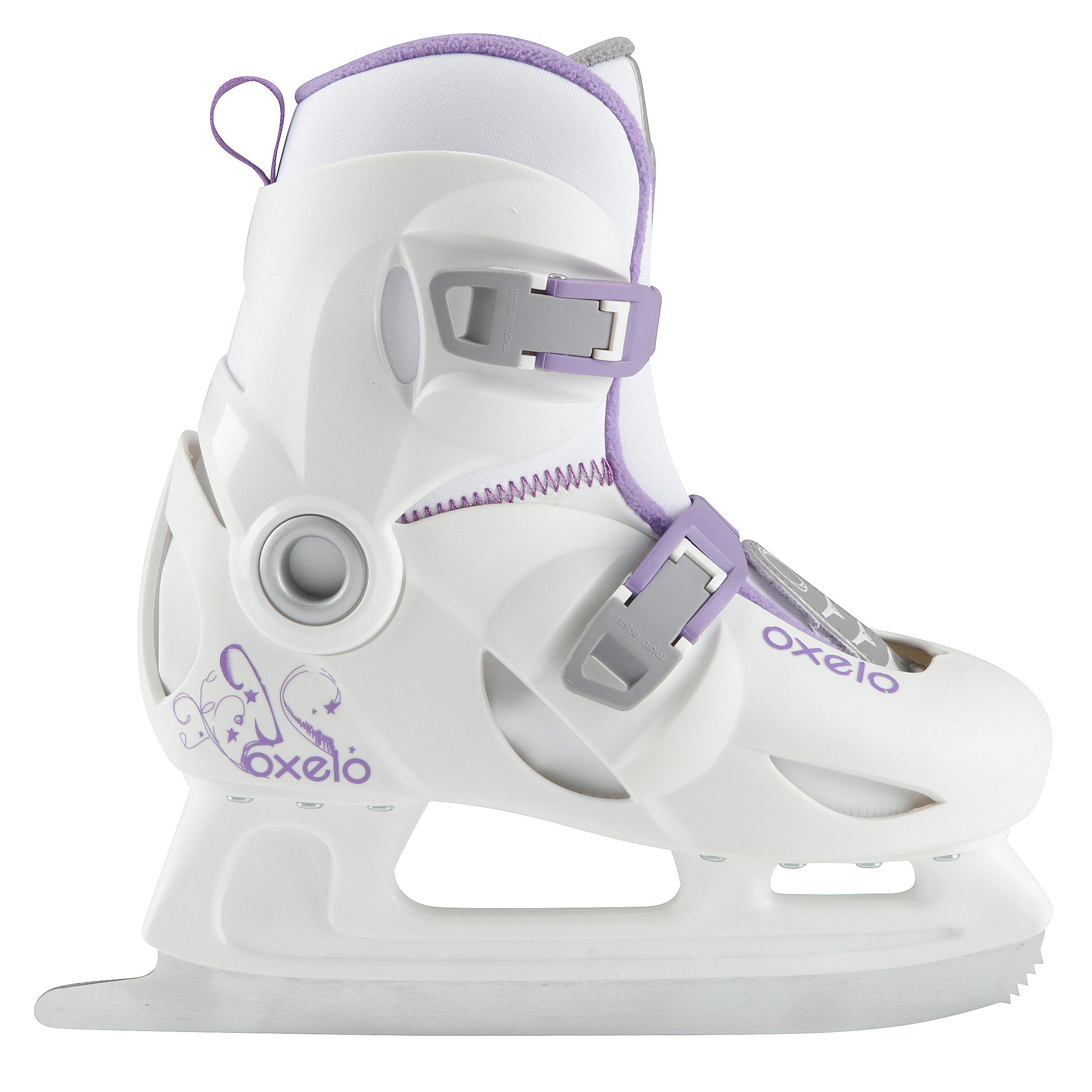 Patins à glace enfant PLAY 3 BLANC