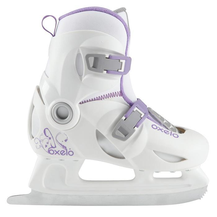 Patins à glace enfant PLAY 3 BLANC - 671796
