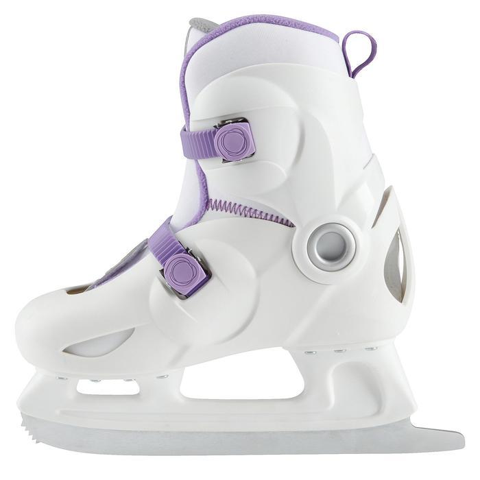 Patins à glace enfant PLAY 3 BLANC - 671797
