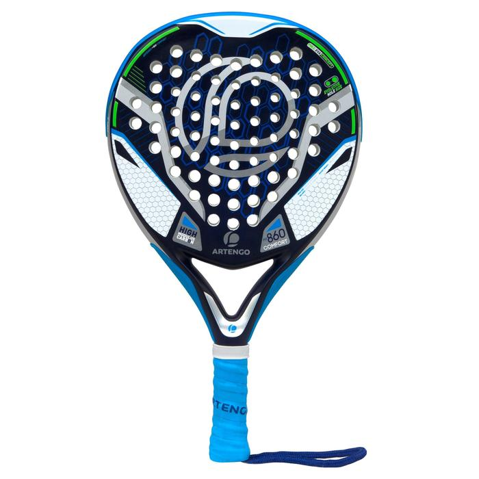Padelschläger PR860 Komfort blau/grün