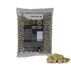 pellets hengelen met vaste stok babymaïs groen 8 mm