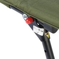 Chaise de pêche pour carpiste