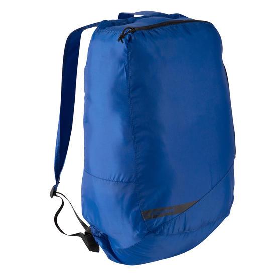Kleine opvouwbare rugzak voor dagelijks gebruik Pocket Bag blauw met pijlen - 673327